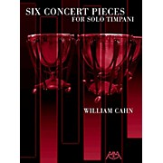 Meredith Music Six Concert Pieces For Solo Timpani