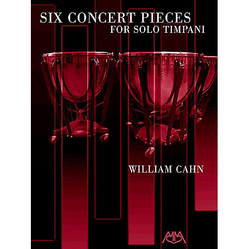 Meredith Music Six Concert Pieces For Solo Timpani-thumbnail