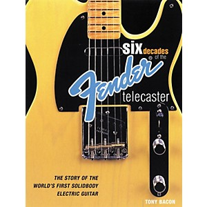 Backbeat Books Six Decades of the Fender Telecaster Book by Backbeat Books