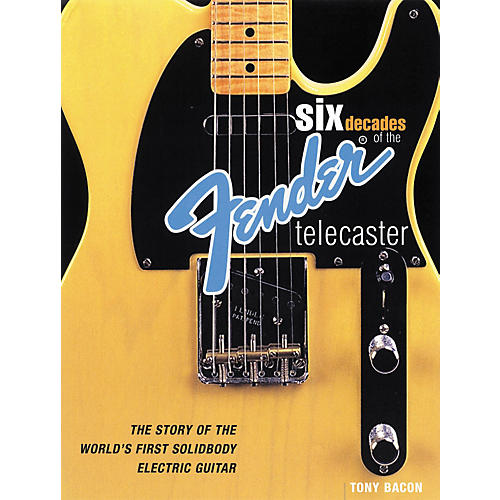Backbeat Books Six Decades of the Fender Telecaster (Book)-thumbnail