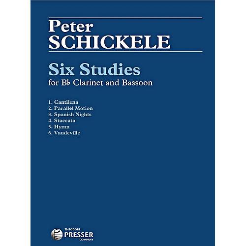 Theodore Presser Six Studies
