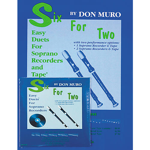 Magnamusic Six for Two 1 Score with CD-thumbnail