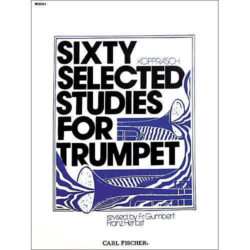 Carl Fischer Sixty Selected Studies for Trumpet-thumbnail