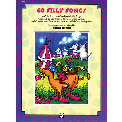 Alfred Sixty Silly Songs Book/CD-thumbnail