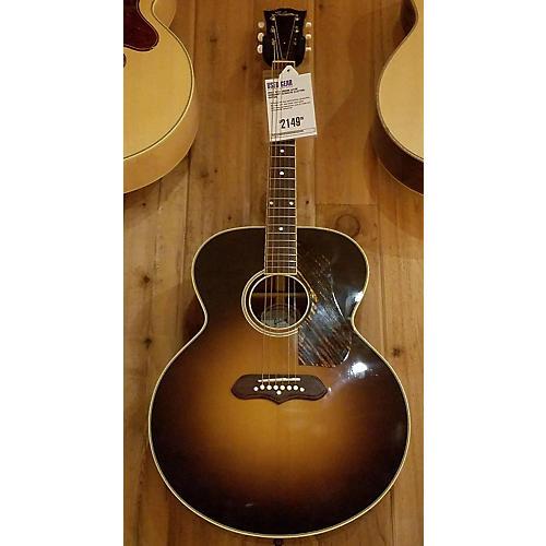 used gibson sj100 acoustic electric guitar guitar center. Black Bedroom Furniture Sets. Home Design Ideas
