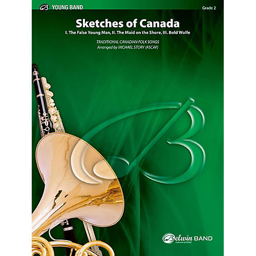 BELWIN Sketches of Canada Concert Band Grade 2 (Easy)