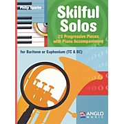 Anglo Music Skilful Solos (Baritone/Euphonium and Piano) Anglo Music Press Play-Along Series Softcover with CD