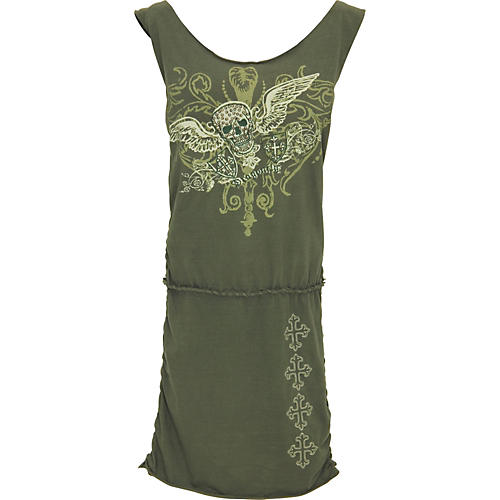 Dragonfly Clothing Company Skull with Wings Dress-thumbnail