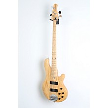 Lakland Skyline 55-01 5-String Bass Guitar Level 2 Natural, Maple Fretboard 888366039908