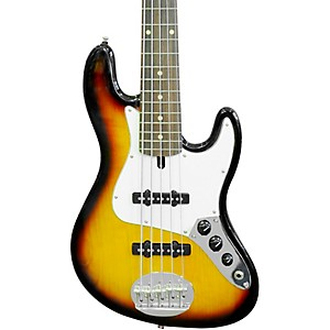Lakland Skyline 55-60 Rosewood Fretboard 5 String Electric Bass Guitar by Lakland