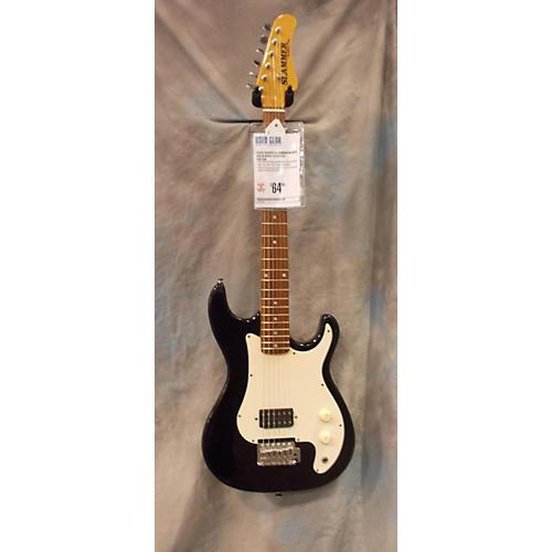 Hamer Slammer Black Solid Body Electric Guitar-thumbnail