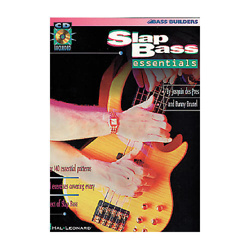 Hal Leonard Slap Bass Essentials (Book/CD)-thumbnail