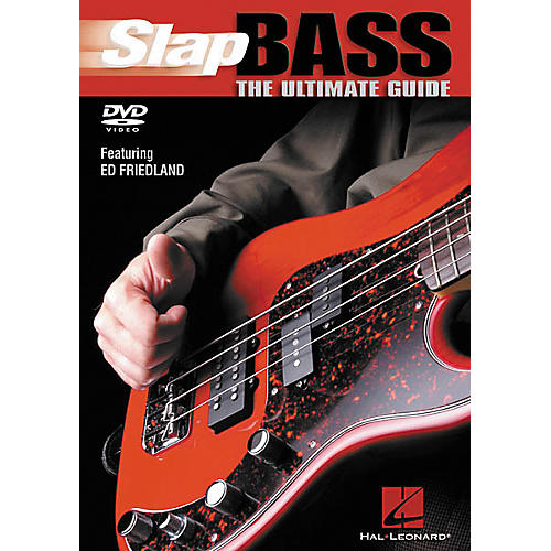 Hal Leonard Slap Bass The Ultimate Guide (DVD)-thumbnail