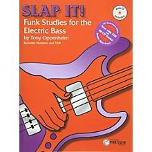 Theodore Presser Slap It! Funk Studies for the Electric Bass (Book/CD)