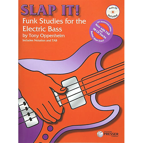 Theodore Presser Slap It! Funk Studies for the Electric Bass (Book/CD)
