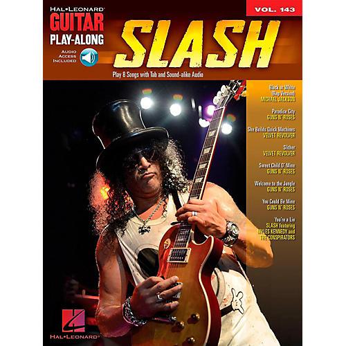Hal Leonard Slash - Guitar Play-Along Volume 143 Book/Audio Online