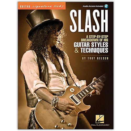 Hal Leonard Slash - Guitar Signature Licks Book/CD