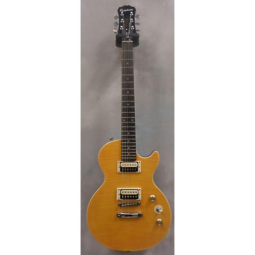 Epiphone Slash AFD Les Paul Special-II Trans Amber Solid Body Electric Guitar-thumbnail