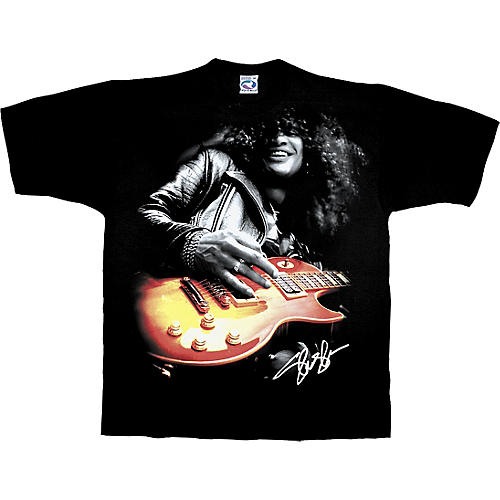 Slash Slash Playing Guitar T-Shirt-thumbnail