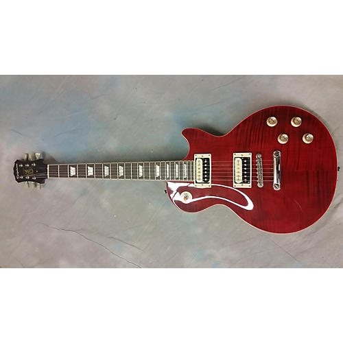 Epiphone Slash Rosso Corsa Les Paul Standard Solid Body Electric Guitar-thumbnail