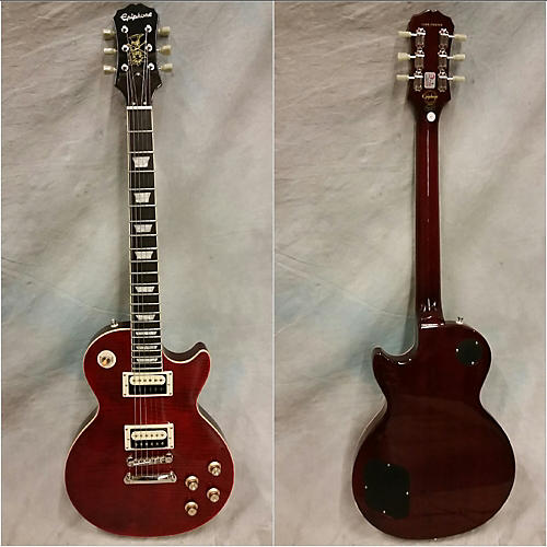 Epiphone Slash Rosso Corsa Les Paul Standard Solid Body Electric Guitar-thumbnail