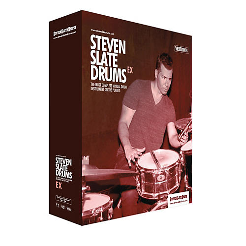 Steven Slate Drums Slate Digital SSD4EX Virtual Instrument