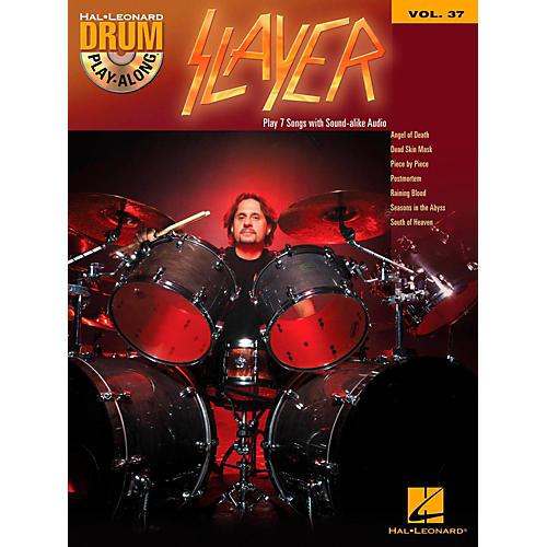 Hal Leonard Slayer - Drum Play-Along Volume 37 (Book/CD)-thumbnail