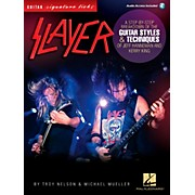 Hal Leonard Slayer Guitar Signature Licks - Styles & Techniques of Jeff Hanneman and Kerry King Book/Audio Online