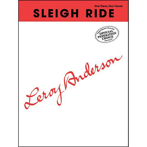 Alfred Sleigh Ride Late Intermediate Piano Duet