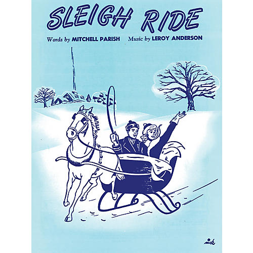 Alfred Sleigh Ride Piano/Vocal/Chords-thumbnail
