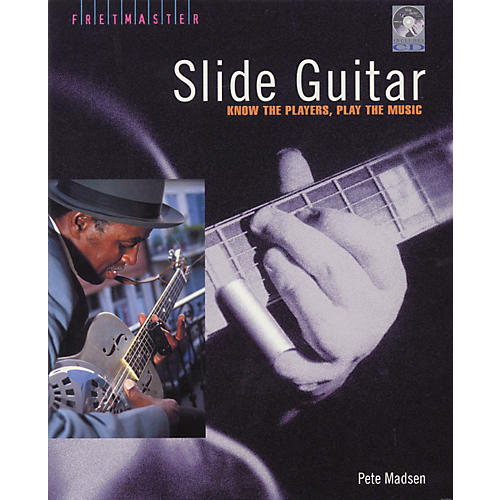 Backbeat Books Slide Guitar (Book/CD)-thumbnail