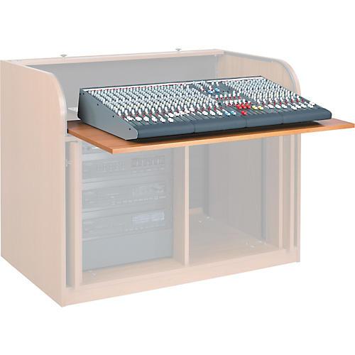 Raxxess Sliding Pull Out Shelf for ERT Desk Cherry  UsedGrade1-thumbnail