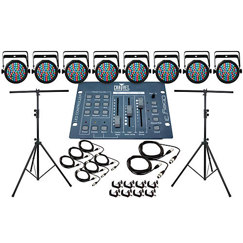 CHAUVET DJ Slim Par 38 8 Light System-thumbnail