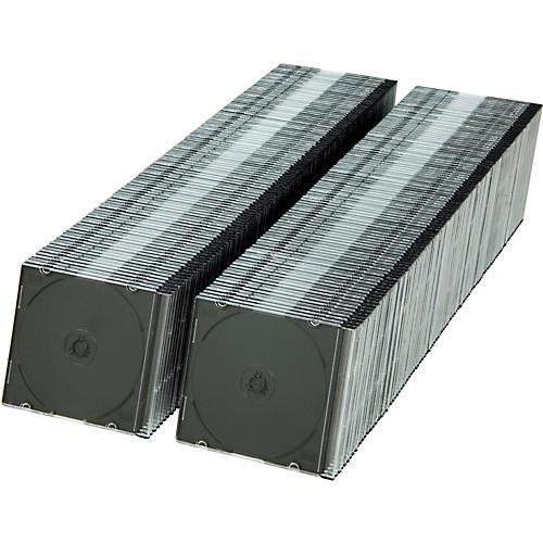 Microboards SlimLine CD/DVD/Blu-ray Jewel Case - 400 Pack