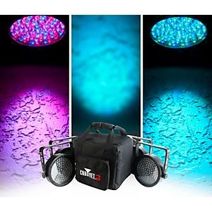 CHAUVET DJ SlimPACK 56 LT - 4 SlimPAR 56 Wash Lights and 3 DMX Cables with ... by CHAUVET DJ