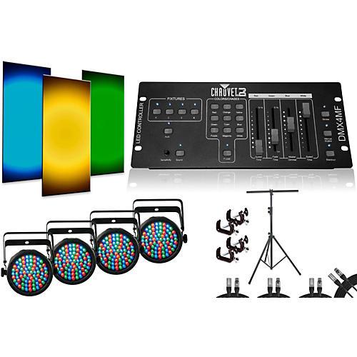 CHAUVET DJ SlimPar 38 DMX4MF 4 Light System-thumbnail