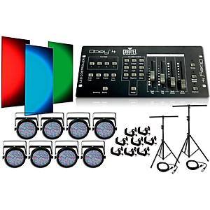 Click here to buy CHAUVET DJ SlimPar64 8 Light System by CHAUVET DJ.