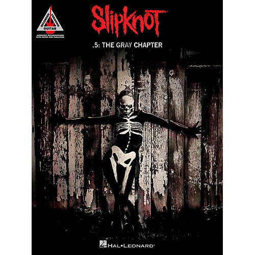 Hal Leonard Slipknot - .5: The Gray Chapter Guitar Tab Songbook-thumbnail