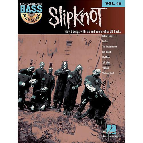 Hal Leonard Slipknot - Bass Play-Along Volume 45 Book/CD-thumbnail