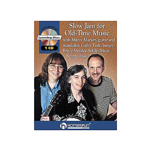 Homespun Slow Jam for Old-Time Music (CD/Booklet)