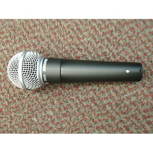Shure Sm58 Gray Dynamic Microphone