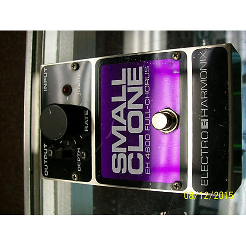 Electro-Harmonix Small Clone Analog Chorus SILVER AND PURPLE Effect Pedal