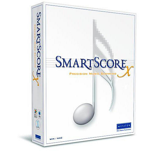 Musitek SmartScore X2 Pro Music Scanning Software 10-Pack