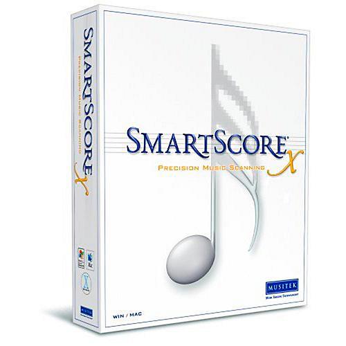 Musitek SmartScore X2 Pro Music Scanning Software 2-Pack