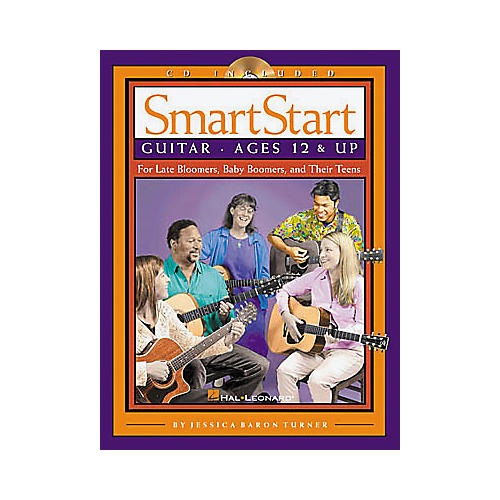 Hal Leonard SmartStart Guitar (Book/CD)-thumbnail