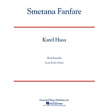 Associated Smetana Fanfare (Score and Parts) Concert Band Level 4-5 Composed by Karel Husa