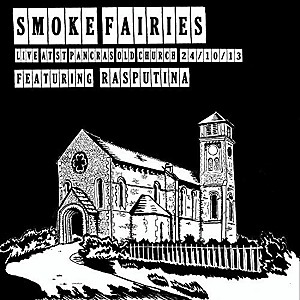 Smoke Fairies - Live at St. Pancras Old Church London 24 - Oct-13 by