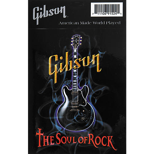 Gibson Smokin Lucille Decal
