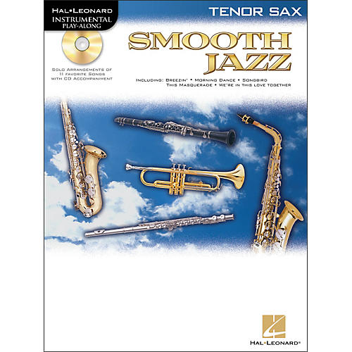 Hal Leonard Smooth Jazz for Tenor Sax Book/CD-thumbnail