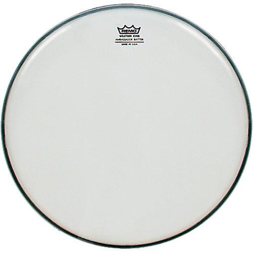 Remo Smooth White Ambassador Batter Drumhead-thumbnail